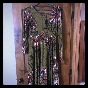 Free people first kiss maxi dress *Reposh*